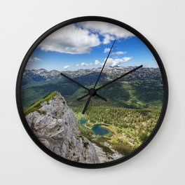 Mountains Escape Wall Clock