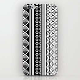 Modern Black 2 iPhone Skin