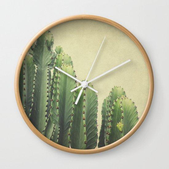Cactus Wall Clock