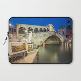 Rialto Bridge Twylight Laptop Sleeve