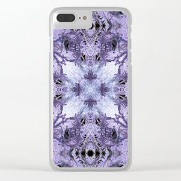 Inverse Fern Reflection Clear iPhone Case