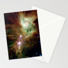 575. The Snowflake Cluster and the Cone Nebula Stationery Cards