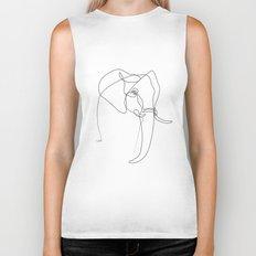 Elephant line Biker Tank