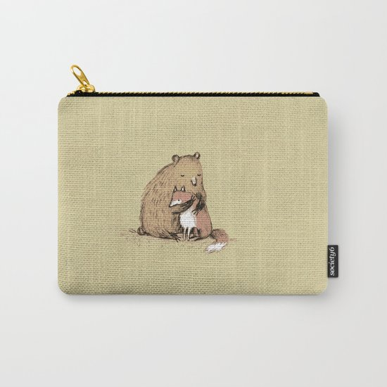 Grizzly Hugs Carry-All Pouch