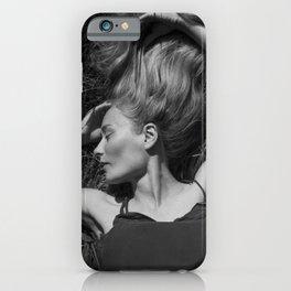 Beautiful woman iPhone Case