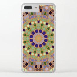 Mosaic 4l ver.2 Clear iPhone Case