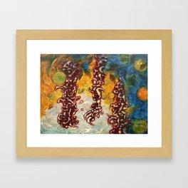 Destinies Entwined Framed Art Print