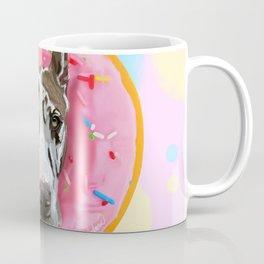 Great Dane Strawberry Donut Coffee Mug