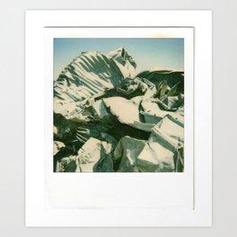 Metal Mountain Art Print