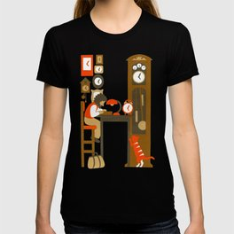 H as Horloger (Watchmaker) T-shirt