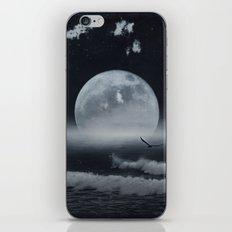 moon-lit ocean iPhone & iPod Skin