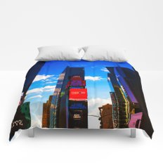 Times square NY Comforters