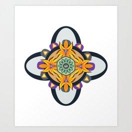 Clasic mandala pattern Art Print