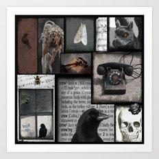 Gothic Myth  Art Print