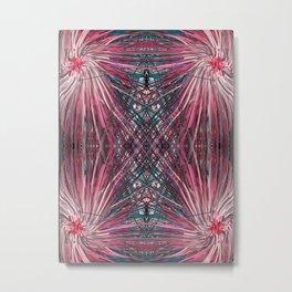 Pink Pom Poms Metal Print