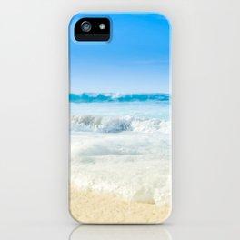 Beach Love Summer Sanctuary iPhone Case