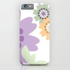 Flowers and Swirls iPhone 6s Slim Case