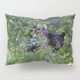 Mother bear hides in the trees- Canadian Rocky Mountains Pillow Sham