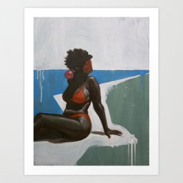Georgia Art Print