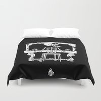 piano Duvet Covers featuring Piano by To The Bones