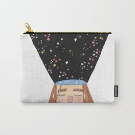 Dreaming, Galaxy Girl - Mind Exploration Carry-All Pouch