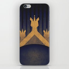 Pluto - The Frost Fields iPhone Skin