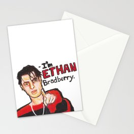 I'M ETHAN BRADBERRY H3H3 meme in oil pastel Stationery Cards