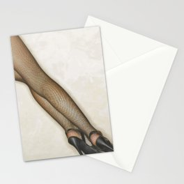 Sexy Stockings Nylons Stationery Cards