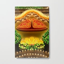 Colorful decorations Metal Print