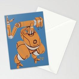 Orange Bot Stationery Cards