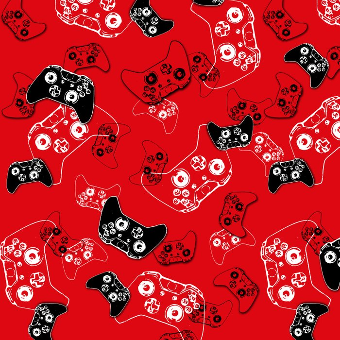 Video Game Red Comforters