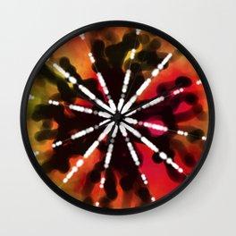 Lotus Flower - Worms Wall Clock