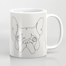 One Line French bulldog Mug