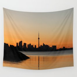 Toronto Sunrise Wall Tapestry