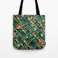 alien Tote Bags featuring Alien by Glanoramay