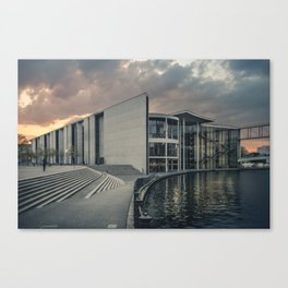 Paul-Löbe-Haus Canvas Print