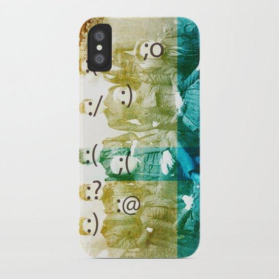 the semicolon sisters iPhone Case