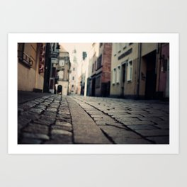 Poznan...an intimate encounter Art Print