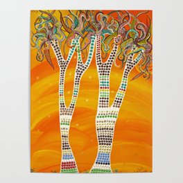 """""""Bushman's Quivers"""" by ICA PAVON Poster"""