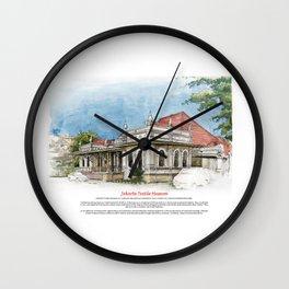 Jakarta Textile Museum Wall Clock
