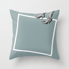 Floating Point Throw Pillow