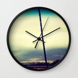 November Rain Wall Clock