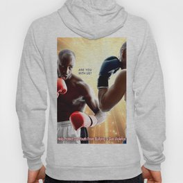 United We Fight To Knockout Gun Violence Hoody