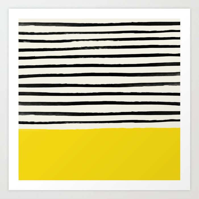 Sunshine x Stripes Kunstdrucke
