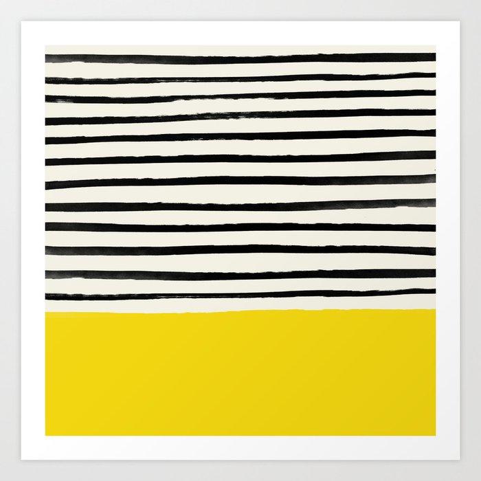 Sunshine x Stripes Kunstdrucke