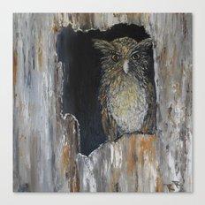 Buffy Fish Owl Canvas Print