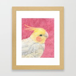 Pretty Birdie Framed Art Print