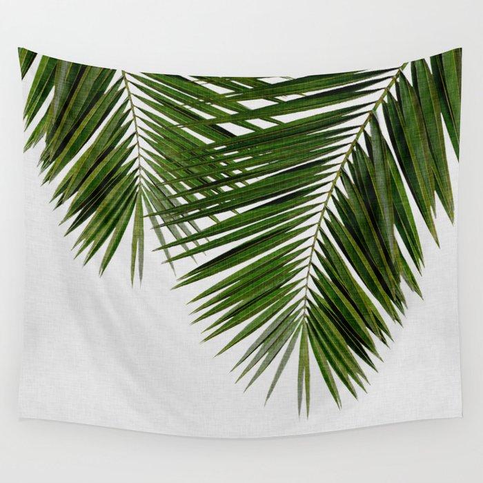 Palm Leaf II Wall Tapestry