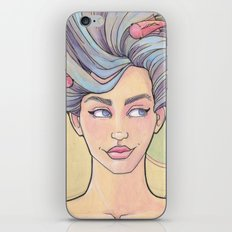 Tattooed Mermaid 7 iPhone & iPod Skin