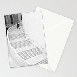 British Museum, London - Minimal white Staircase Stationery Cards